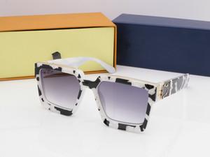 2019 NEUE Luxus MILLIONAIRE M0993WN Sonnenbrille full frame Vintage designer sonnenbrille für männer Shiny Gold Logo Heißer verkauf Vergoldetes Top