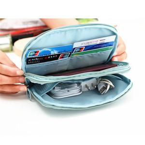 Günstige Reiseveranstalter Reisepass Kartenpaket Kreditkarteninhaber Brieftasche Dokumentenpaket Fashion Multi Pockets Card Pack