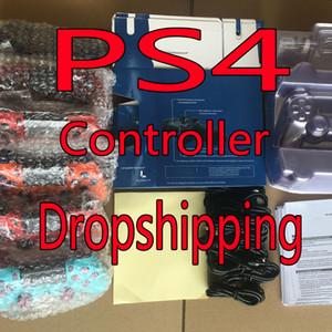 Nuevos colores para controlador Bluetooth PS4 hilos de la vibración Joystick Gamepad del regulador del juego para Sony Play Station con la caja Dropshipping
