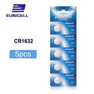 بطاريات زر خلية محفظة 5pcs CR1632 CR 1632 ECR1632 DL1632 KCR1632 LM1632 3V بطاريات بطارية ليثيوم زر خلية للعب ساعة 1Card