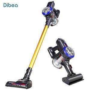 Dibea Д18 Ручной пылесос Аккумуляторный 2 В 1 Cyclone Фильтр 120W 8500Pa Сильный Всасывающий Пылесборник Бытовая Аспиратор
