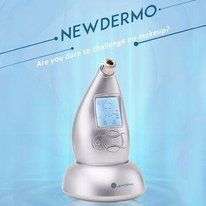 2019 Nuovo DERMO Household Skin SPA Macchina per microdermoabrasione Multi-funzione antirughe Rimuovi borse per gli occhi Strumento di ringiovanimento della pelle