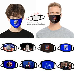 2020 presidential election cross-border Biden man mask dust-proof fashion 3D printed ice silk fabric can be washed to support custom vote