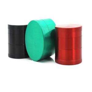 Grinder Zink AlloyPure Farbe Vier Schichten Rauchzubehör Durchmesser Metallschleifer Schleifwerkzeug Rauchzubehör 40mm WY276Q