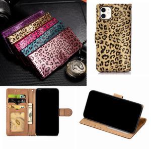 Leopard Animal Wallet кожаный чехол для Iphone 11 Pro Max 2019 XR XS MAX X 8 7 6 держатель подставка карман ID Card Box откидная крышка роскошный чехол