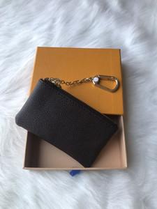 Uomini New progettista Tote Portafoglio in pelle di alta qualità breve Portafogli per le donne borsa degli uomini della moneta sacchetti di frizione con box