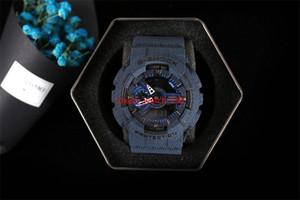 2019 Новые цвета высочайшее качество авто свет relogio модные часы 11000 с коробкой мужские спортивные часы водонепроницаемые, все маленькие циферблаты работают