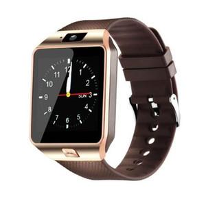 DZ09 Smart Watch Montres Bracelet Android Smart SIM La montre intelligente de téléphone mobile peut enregistrer l'état de veille