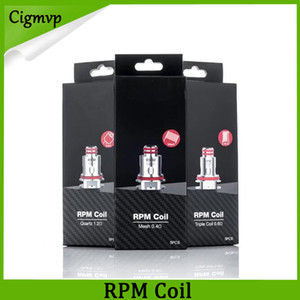 RPM40 Coil 0.4ohm Mesh 0.6ohm Triple DC Coils 1.2ohm Quartz 1.0ohm SC Replacement Coils For RPM40 Kit