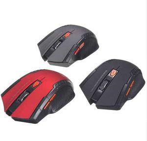 Hot Mini 2.4GHz Souris optique sans fil Gamer pour ordinateurs portables de jeu sur PC Nouveau jeu Souris sans fil avec récepteur USB