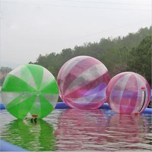 شحن مجاني متعدد الألوان 2 متر 0.8 ملليمتر pvc نفخ المياه المشي لعب الألمانية زيبر أكوا زورب كرة الماء الكرة الهواء الإنسان الهامستر الكرة