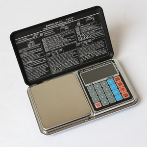 30pcs quevinal Digital scale 6 in 1 multifunction LCD precision measure 0.01G 500g jewelry Scale calculators