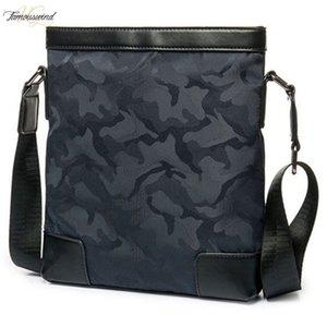 New Hot Camouflage Nylon Shoulder Bag Canvas Mans Handbag Vertical Handbags High Quality Medium Capacity Message Bags