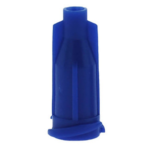 Glue dispensing syringe tip Blue cap Luer Lock 1000 PCS lot