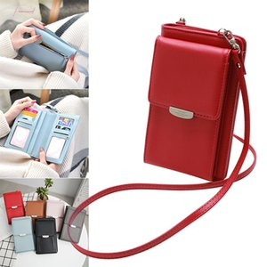 Women Casual Wallet Handbag All In One Design Crossbody Phone Wallet Case Big Card Holders Wallet Multi Function Shoulder Bag