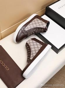Más lujoso caliente diseñadores de zapatos casuales zapatos de ocio Rockrunner Hombres Mujeres zapatillas de la red de cuero del remiendo de pisos barata de las muchachas mejor tenis