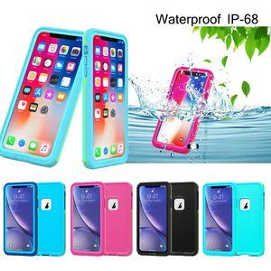 TPU Hybrid Robot Heavy Crashproof Waterproof Defender Case Luxury Designer Phone Cases For iPhone 11 Pro Max Xs Max X Xr 7 8