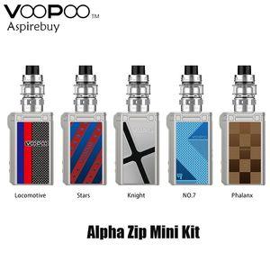 VOOPOO Alpha Zip Mini Bausatz TC 120W Box Mod 4400mAh Eingebaute Batterie Fit VOOPOO Maat Tank MT Spulen Alpha Zip Mini Mod Authentic