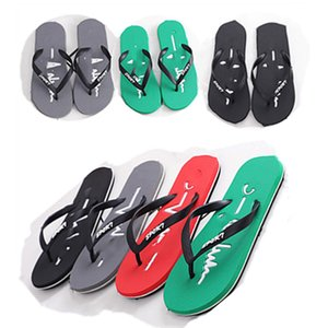 Champions Men casual sippers PVC straps Flip Flops rubber summer shoes beachwear outdoors indoor plus size non-slip stars sandals gym 0158