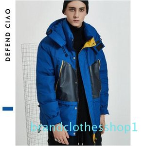 Mens Designer Down Coat Luxuy Letter Mens Outdoor Thick Jackets Fashion Active Womens Winter Hooded Clothes with Pockets Hiphop Wear