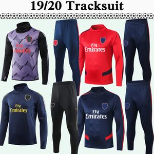 19 20 Suit Mens Formação Moda Mens Futebol 2019 Uniformes 2020 Treino Kit manga comprida camisas do futebol adultos vendas a baixo preço