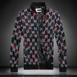 200 Designer Men Jacket hip hop Brand Medusa Italian Jacket Men's Super Quality Jacket Men's Casual Print Letters Pattern Free Shipping