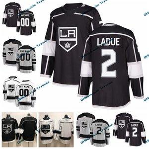 2019 personnaliser Paul LaDue Kings de Los Angeles maillots cousus personnalisés autres chemises gris # 2 Paul LaDue chandails de hockey S-XXXL
