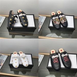 Krazing Pot 2020 Genuine Leather Summer Mules Square Toe Med Peep Toe Top Quality British Design Solid Color Sandals L11#270