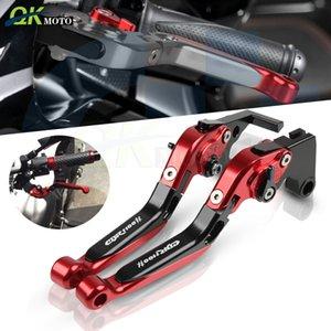 Mango extensible de aluminio plegable de la motocicleta palancas de embrague de freno para CBR1100XX CBR1100XX 1997-2007 2005 2006