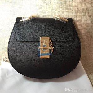 مشاهير وكسي تصميم العلامة التجارية المرأة CROSSBODY الكتف سلسلة حقيبة عالية الجودة الصغيرة حقيقية Cowskin الجلد المدبوغ جلدية Cloe حقيبة شحن مجاني