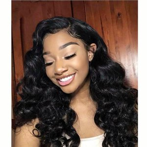 Malaysian 10A Human Hair Wigs Loose Deep Curly Wigs human hair Lace Front wigs Body Straight Brazilian Hair Water Peruvian Indian
