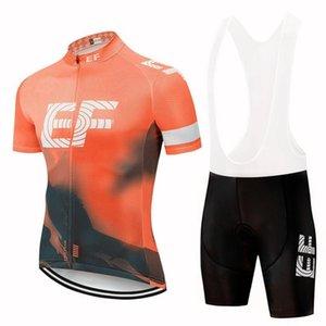 2020 Verano EF Education First equipo de ciclismo Jersey libera a los hombres de manga corta Racing Ropa Mtb bicicleta arropa Maillot Ciclismo Y040905