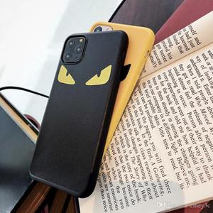 Designer de luxo caixa do telefone olhos Silicone diabo tampa quente para iphone 11 Pro X XS Max Xr 7 8 Plus Moda Marca macio Capa Funda