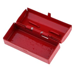 1 12 Scale Dollhouse Miniature Metal Tool Box Case Home Decor