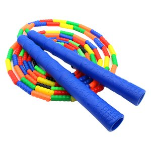 280 centimetri di slittamento non segmentato Bambini Fitness regolabile Perdita di peso salto della corda TPU Inizio morbido rilievo interno Allenamento Outdoor Sports