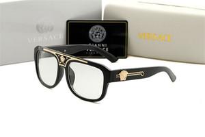 Lunettes de soleil de pilote classique de haute qualité Designer Marque Hommes Femmes lunettes de soleil Lunettes Gold Metal Green 55mm 60mm Lentilles en verre Brown Case