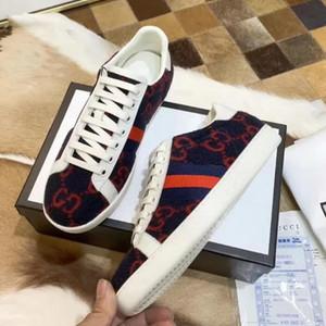 2020 nova moda sapatos de luxo Marca Homens Mulheres de couro genuíno imprimir Sneakers Loafers Unisex Flat Shoes Frete grátis Casual