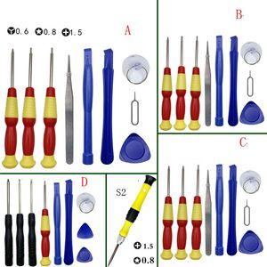 9 en 1 Kit de Herramientas de reparación de multifuncionales de precisión Kits de Reparación de destornilladores para tornillos para el teléfono móvil Tablet PC Informática