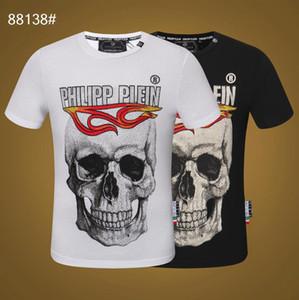 2019 marke Design Sommer Street Wear Europa Mode Männer Hochwertige Baumwolle T-shirt Casual Kurzarm T-shirt # 8616pp