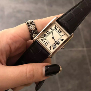 2020 Hot Sale women watch New Fashion Women Dress Watches Casual Rectangule Leather Strap Relogio Feminino Lady Quartz Wristwatch
