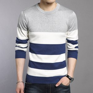 WOQN Pull Hommes 2017 cou Printemps Casual Mode Pulls Hommes O Plein manches Pull Hommes Slim pull-overs Homme
