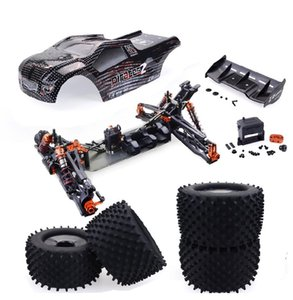 RCtown ZD Racing 9021-V3 1/8 2.4G 4WD 80km / s Fırçasız Rc Araba Tam Ölçekli Elektrikli Truggy RTR Oyuncak