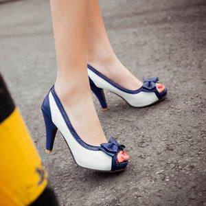 Yay Grace Tatlı Balık Ağzı Ile Rahat Yüksek Honor2019 Roma Kadın Sandalet En Kod 43-45