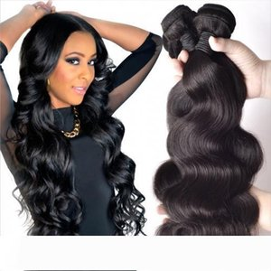 A Brazilian Body Wave 100% Unprocessed Human Virgin Hair Weaves 8A Best Quality Remy Human Hair Extensions Human Hair Weaves Dyeable 3