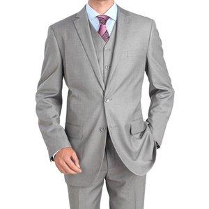 Herrenanzug Herren Freizeitanzug dreiteiligen Anzug (Jacke + Hose + Weste) Herren Business Office Kleid Unterstützung benutzerdefinierte