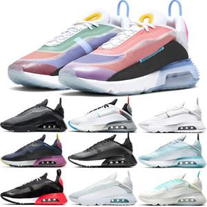 Nike Air Max 2090 Scarpe da corsa Uomo Donna Uomo Scarpe da ginnastica Betrue Pure Platinum Be true Triple Nero Bianco Sneakers sportive di alta qualità Taglia 36-45