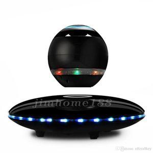 2019 novos falantes de home theater LED levitação magnética portátil flutuante Speaker Bluetooth wireless suspensão magnética para telefones inteligentes