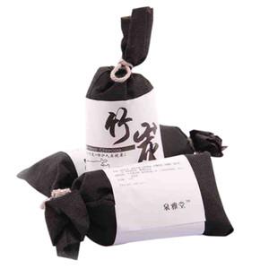 Naturales activados Moso-carbón de bambú purificadores de aire de coche Bolsas casa cocina armario ambientador de aire de absorber la humedad 2082