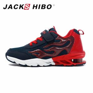 Jackshibo Niños Zapatillas de deporte de moda de otoño Zapatillas de deporte para niños Zapatillas de correr para niños Tacón de primavera Zapatillas de deporte para niños Zapatos de otoño Y190525