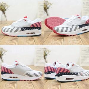2020 zapatos 87 Aniversario 1 Piet Parra zapatillas de deporte de primera calidad lunar 1 DELUXE WATERMELON Chaussures Aire Reaccionar Elemento Deportes zapa